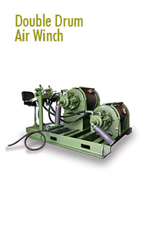 Double Drum Air Winches Rental | Pulling Equipment