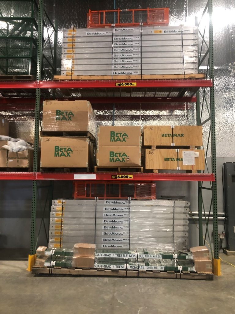 LGH Columbus Warehouse stocked with BETAMAX products